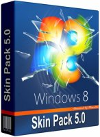 Windows 8 Skin Pack 5.0 for Windows 7 / Windows 8 Skin Pack 3.0 Windows XP (2011/32bit/64bit)